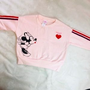 Minnie Mouse Sweater Pink